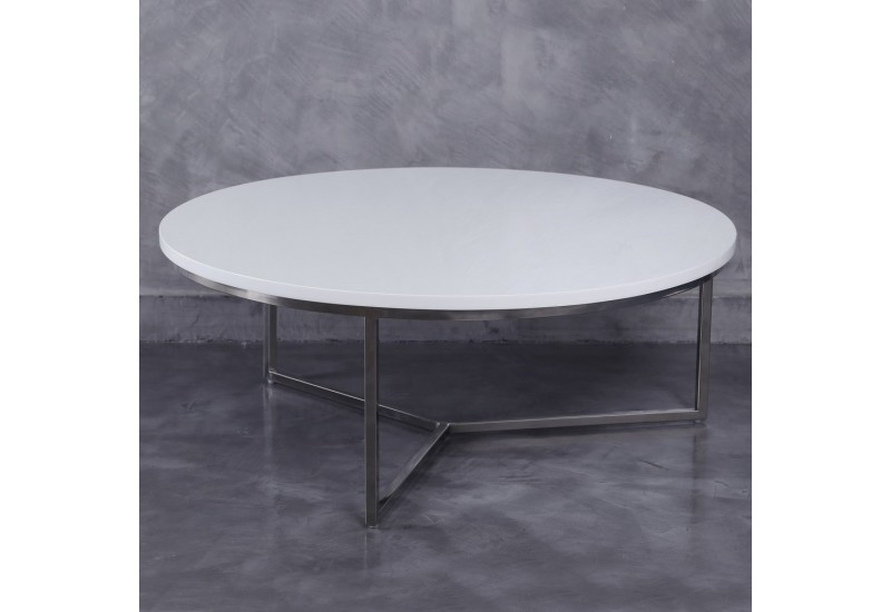 table basse ronde moderne