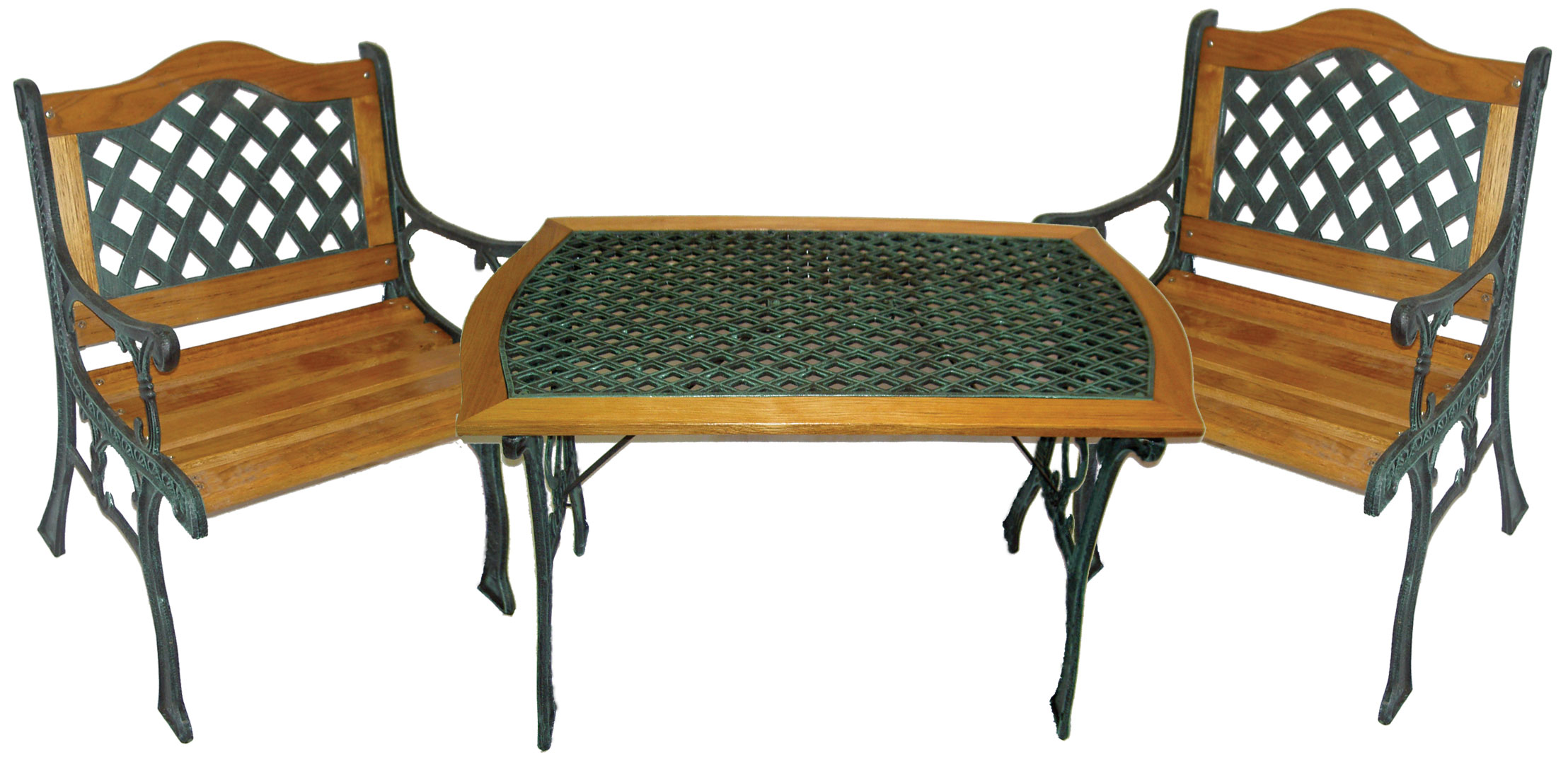 Awesome Table De Jardin Bois Fer Forge Photos - House Design ...