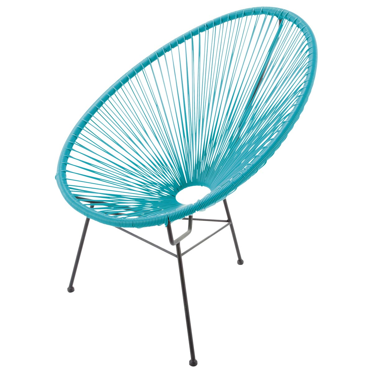 fauteuil oeuf rond