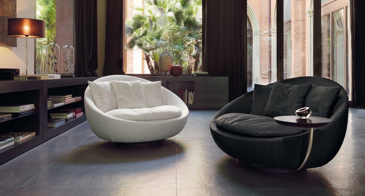 grand fauteuil rond