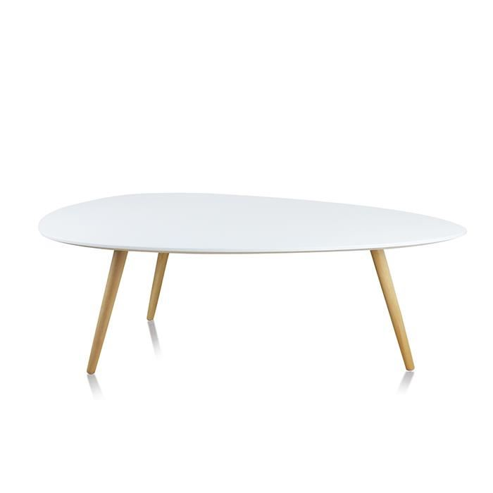 table basse de salon ronde design