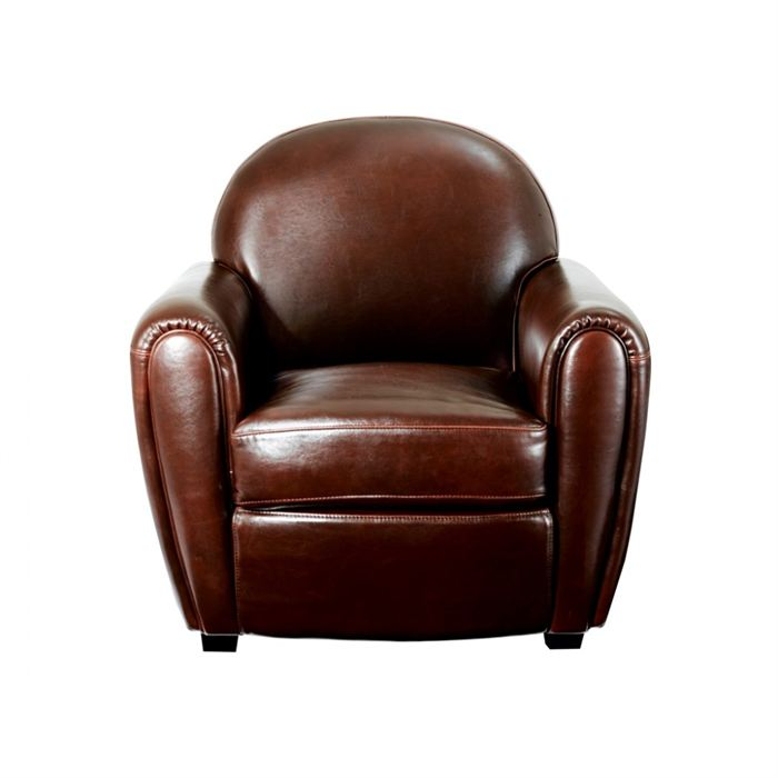 fauteuil cuir soldes