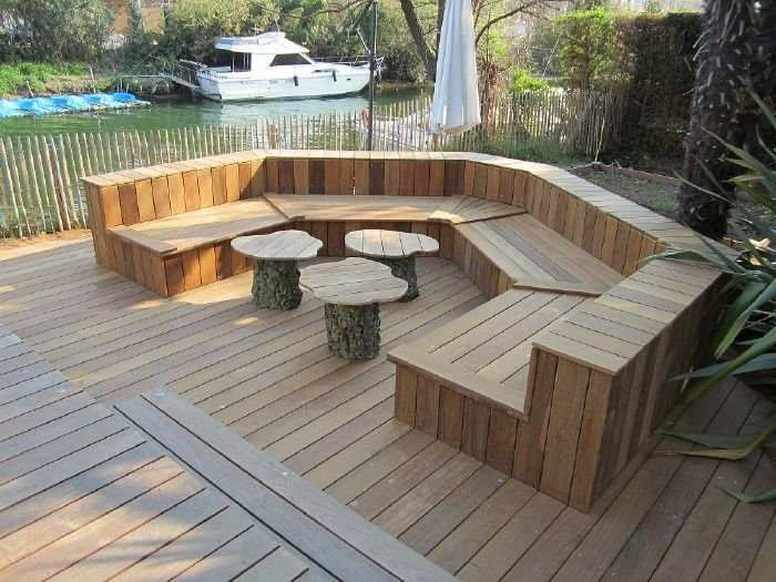 Best Salon De Jardin Bois Exotique Pictures - House Design ...