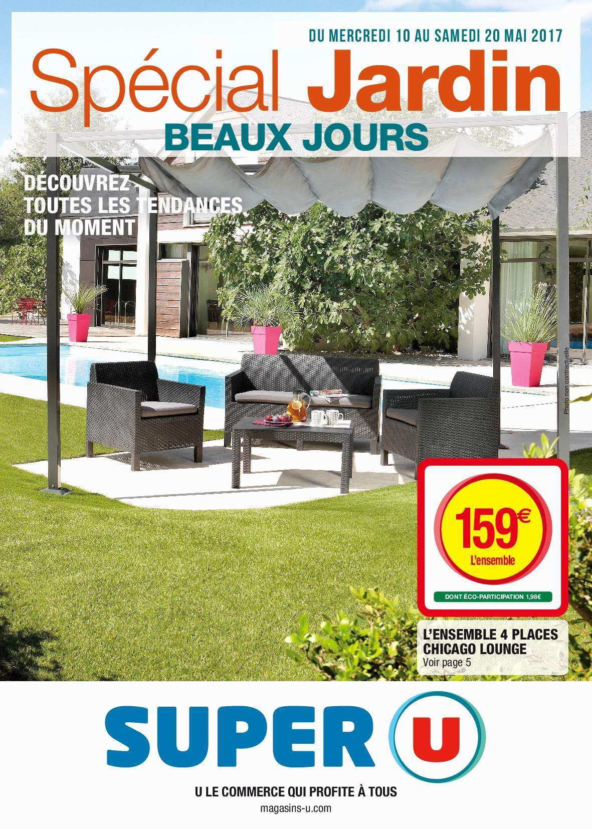salon de jardin super u