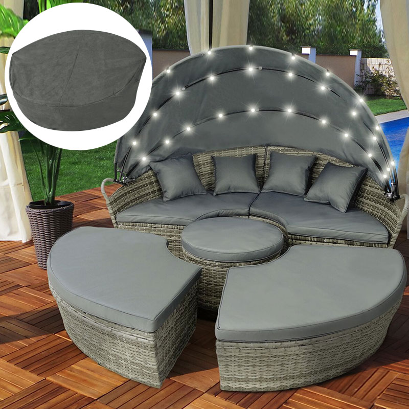 Best Salon De Jardin Lit Sofa Rond Pictures - House Design ...