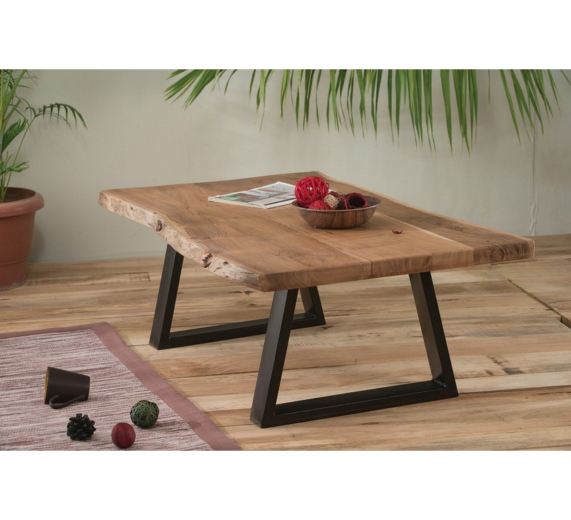 Table Basse Bois Brut Idees De Decoration Interieure