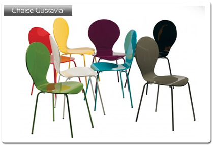 chaise design cuisine