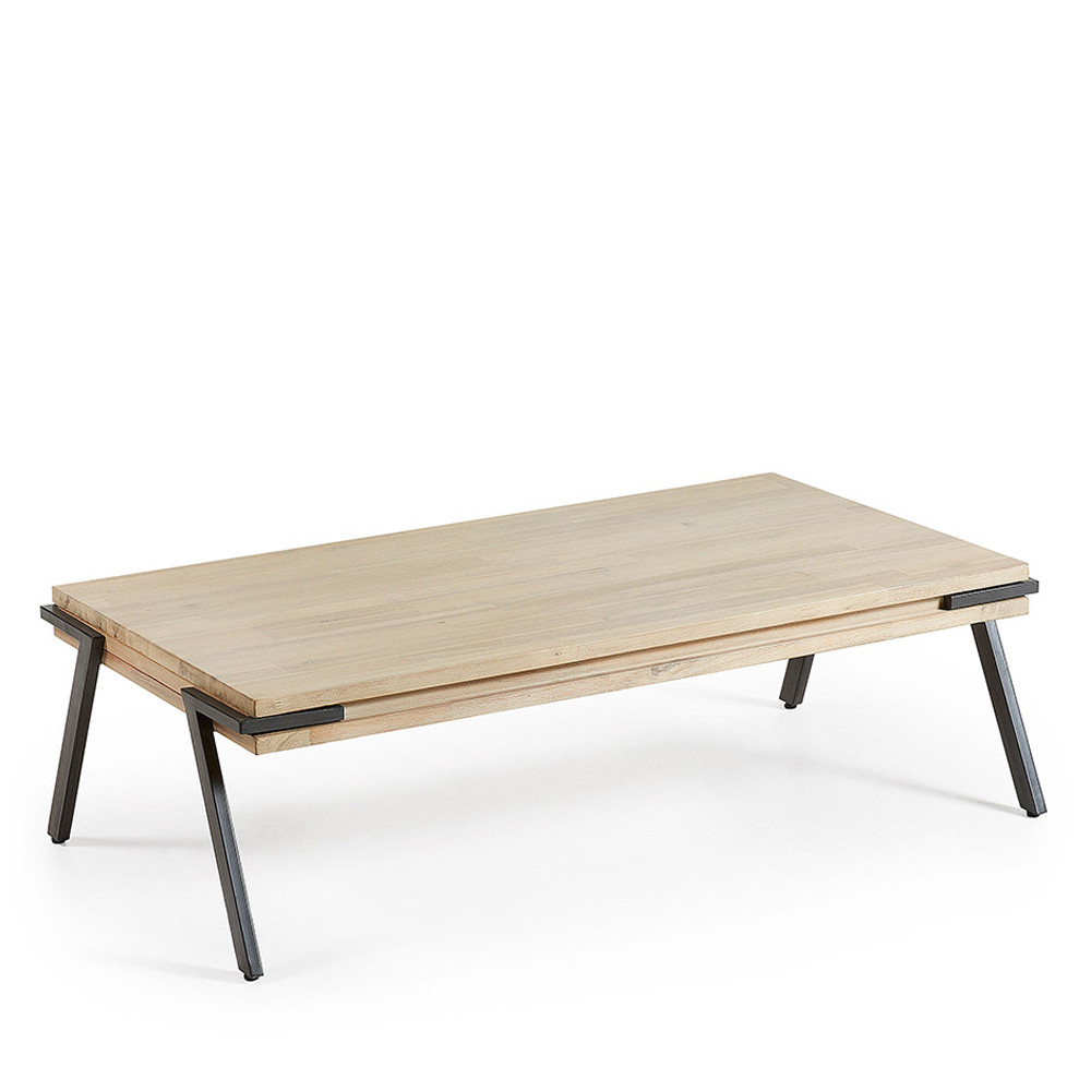 table basse rectangulaire bois