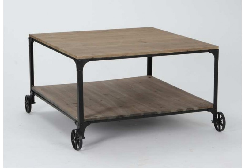 table basse roulette