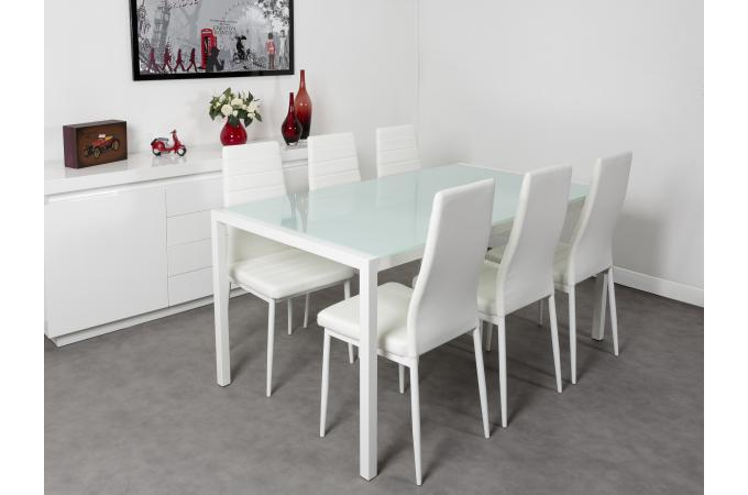 table et chaise blanche
