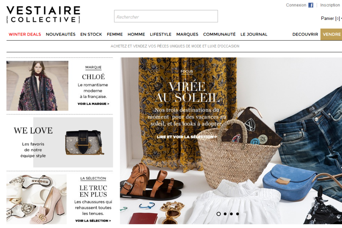 vestiaire collective chaussures