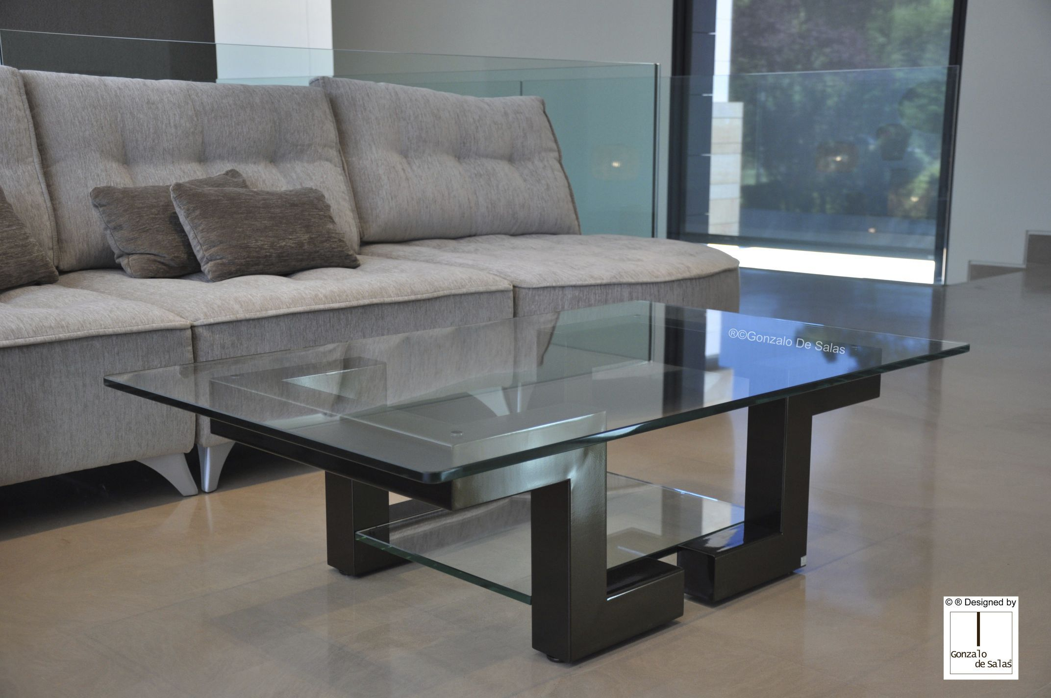 table basse rectangulaire design