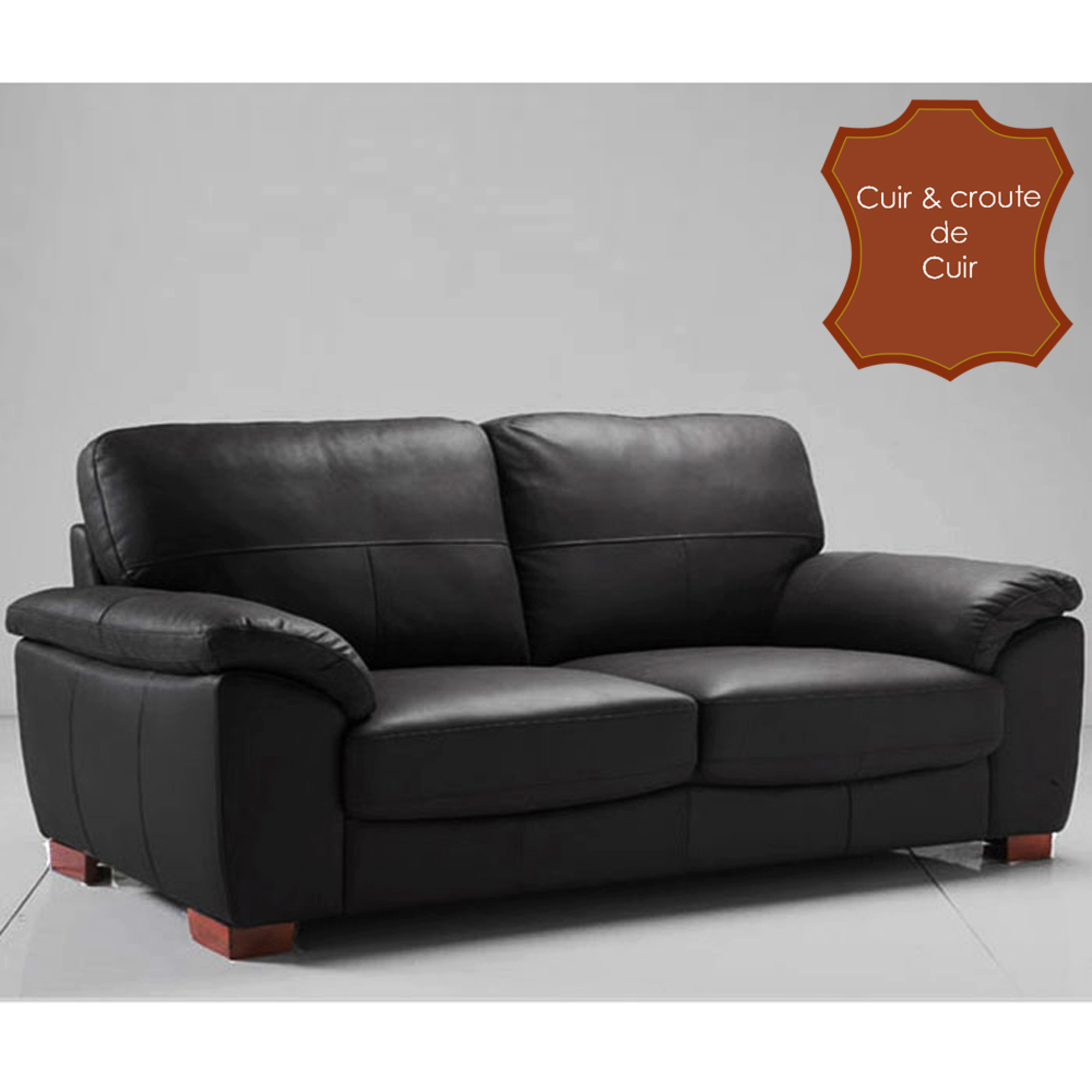 canape cuir 3 2 places