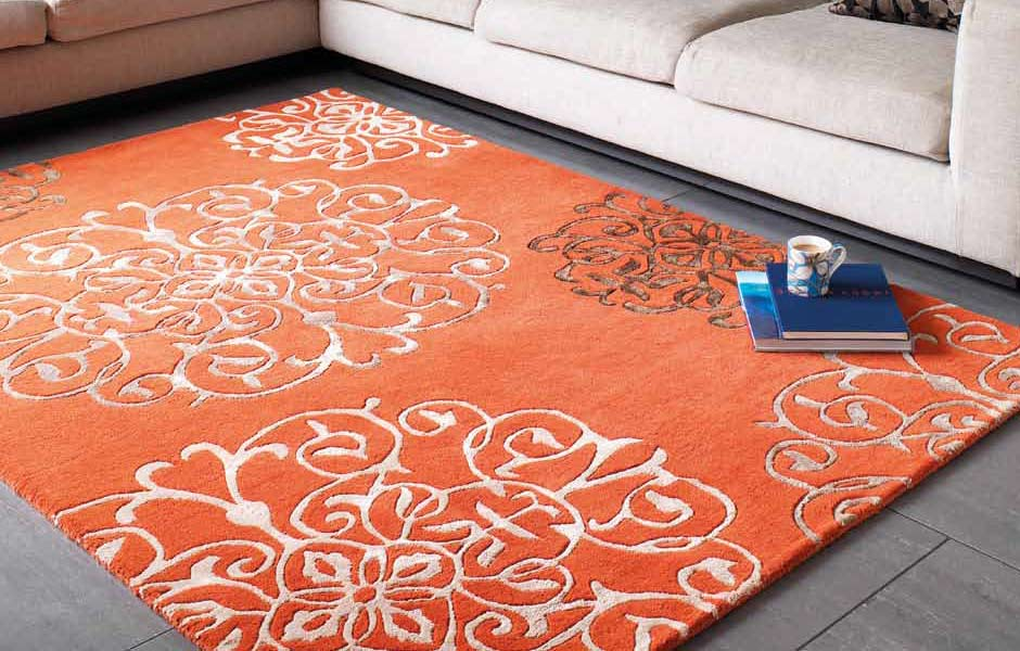 tapis salon couleur