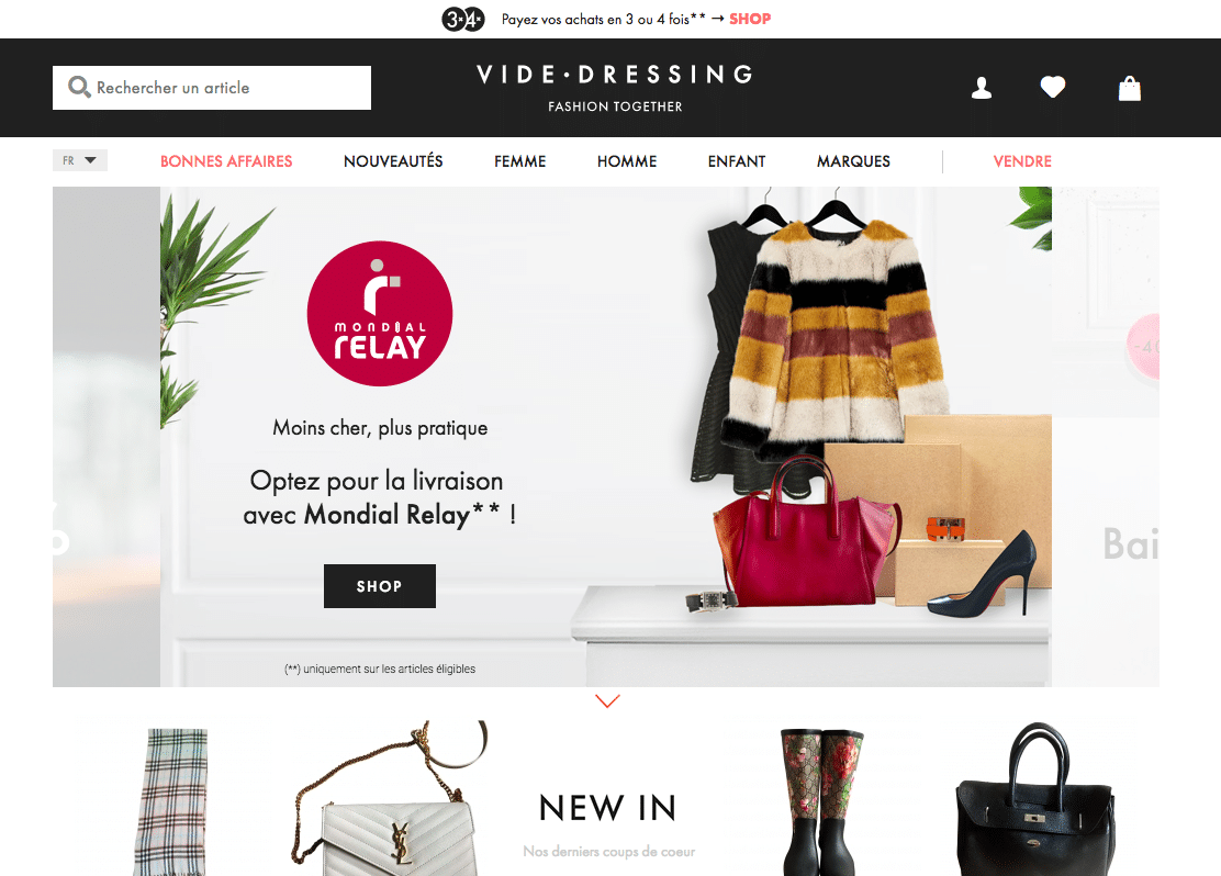 vide dressing vestiaire collective