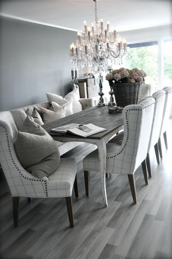 chaise salle a manger style ancien