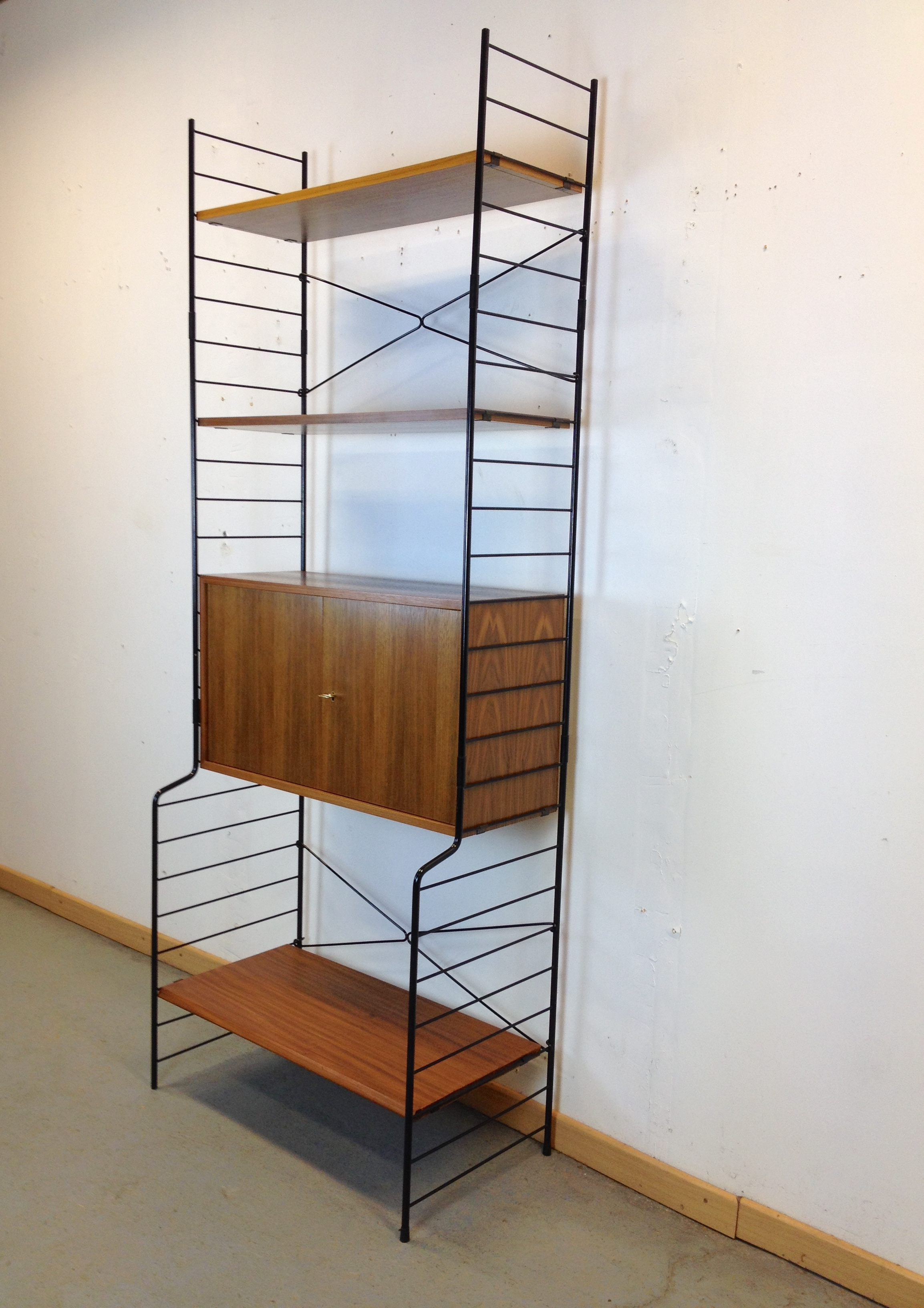 etagere metal modulable
