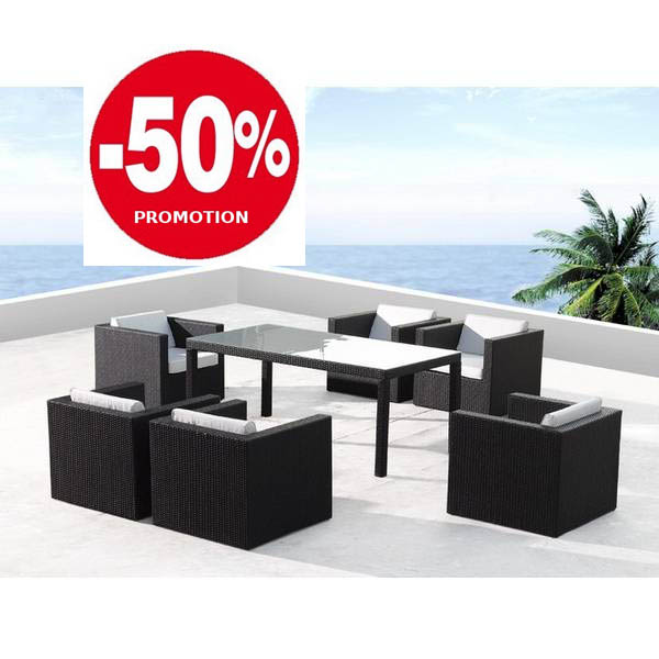 salon de jardin design promo