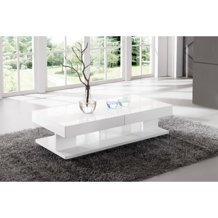 table salon rectangulaire