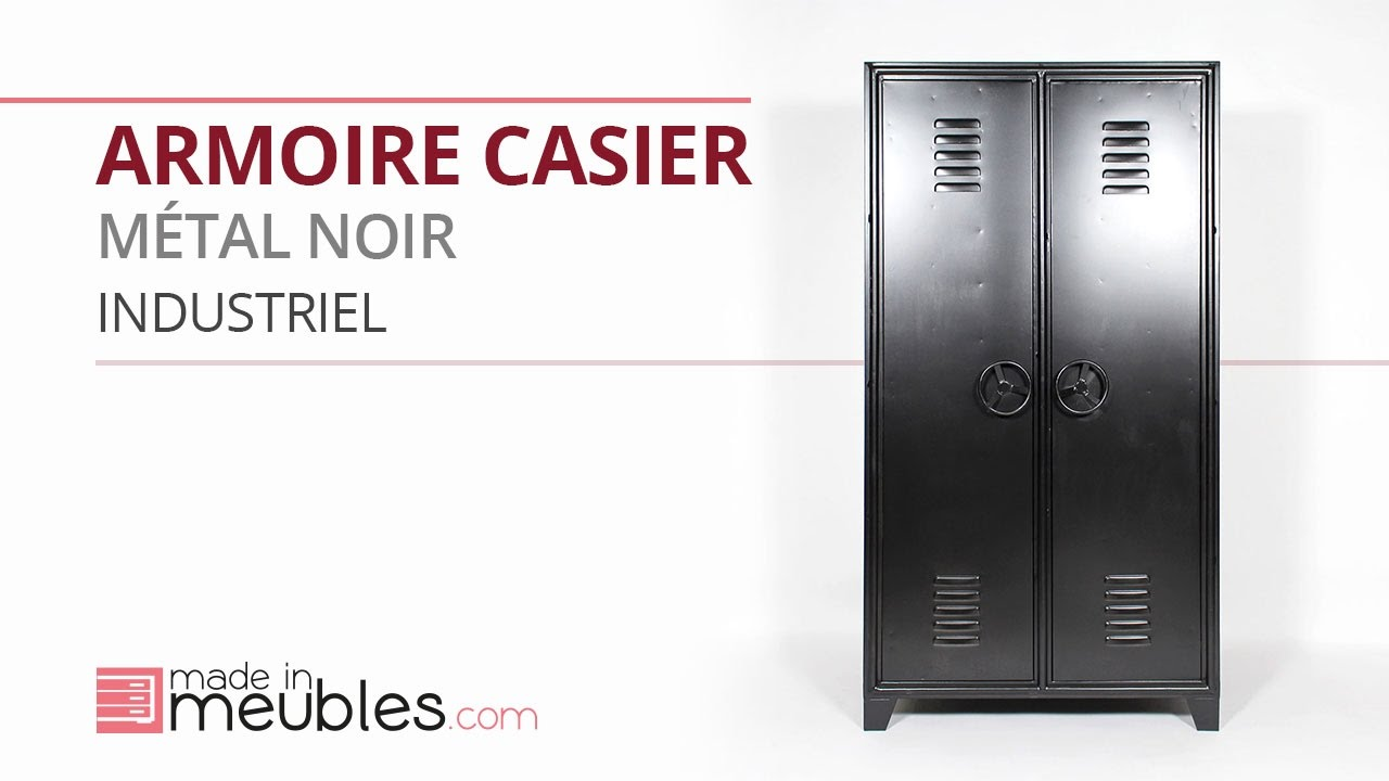 armoire casier metal