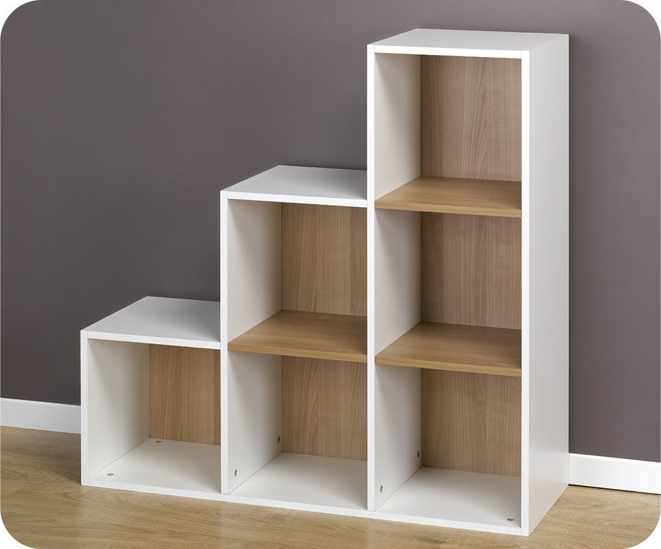 bibliotheque cubes modulables