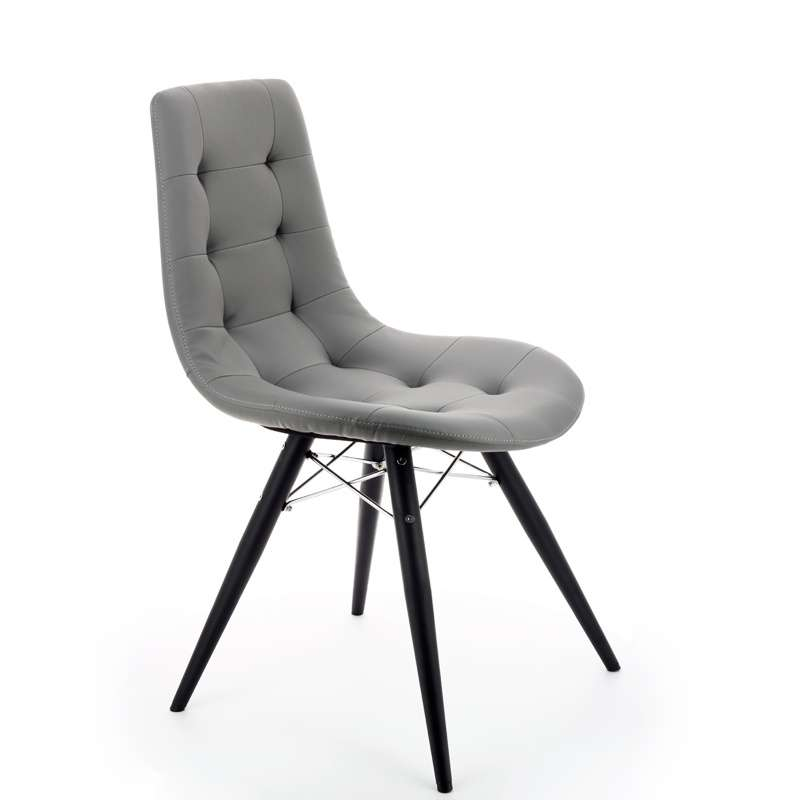 chaise grise moderne