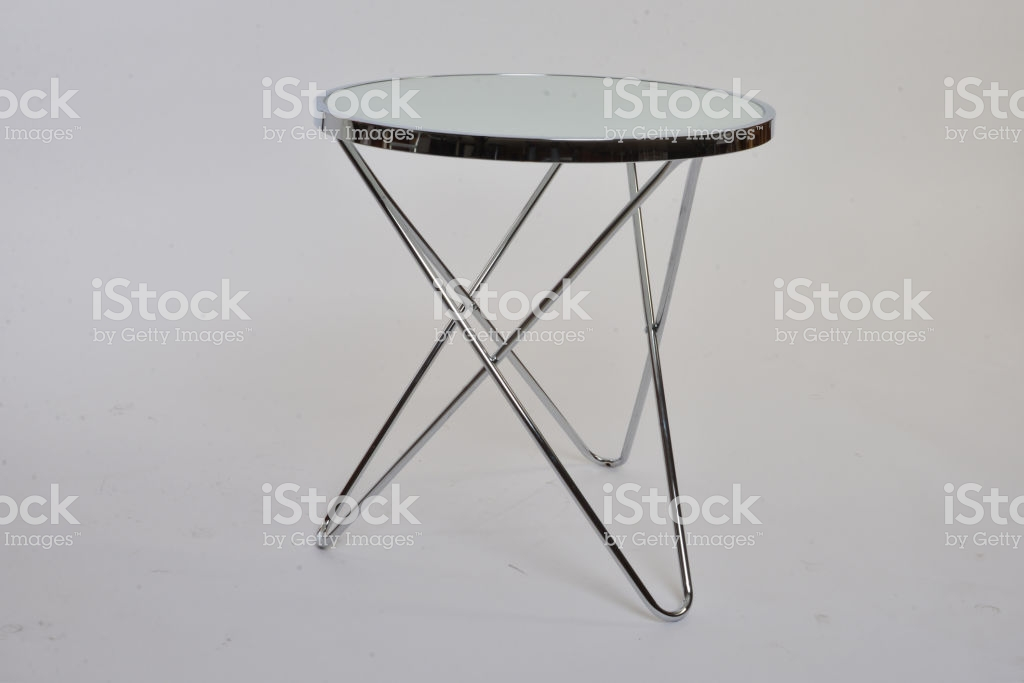table basse blanche vintage