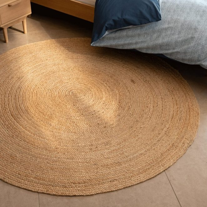 tapis rond pas cher