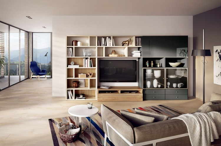 meuble etagere tv design