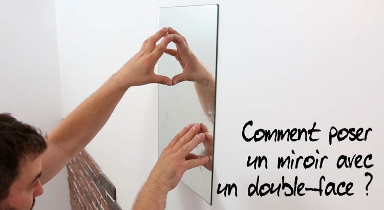miroir leger a coller
