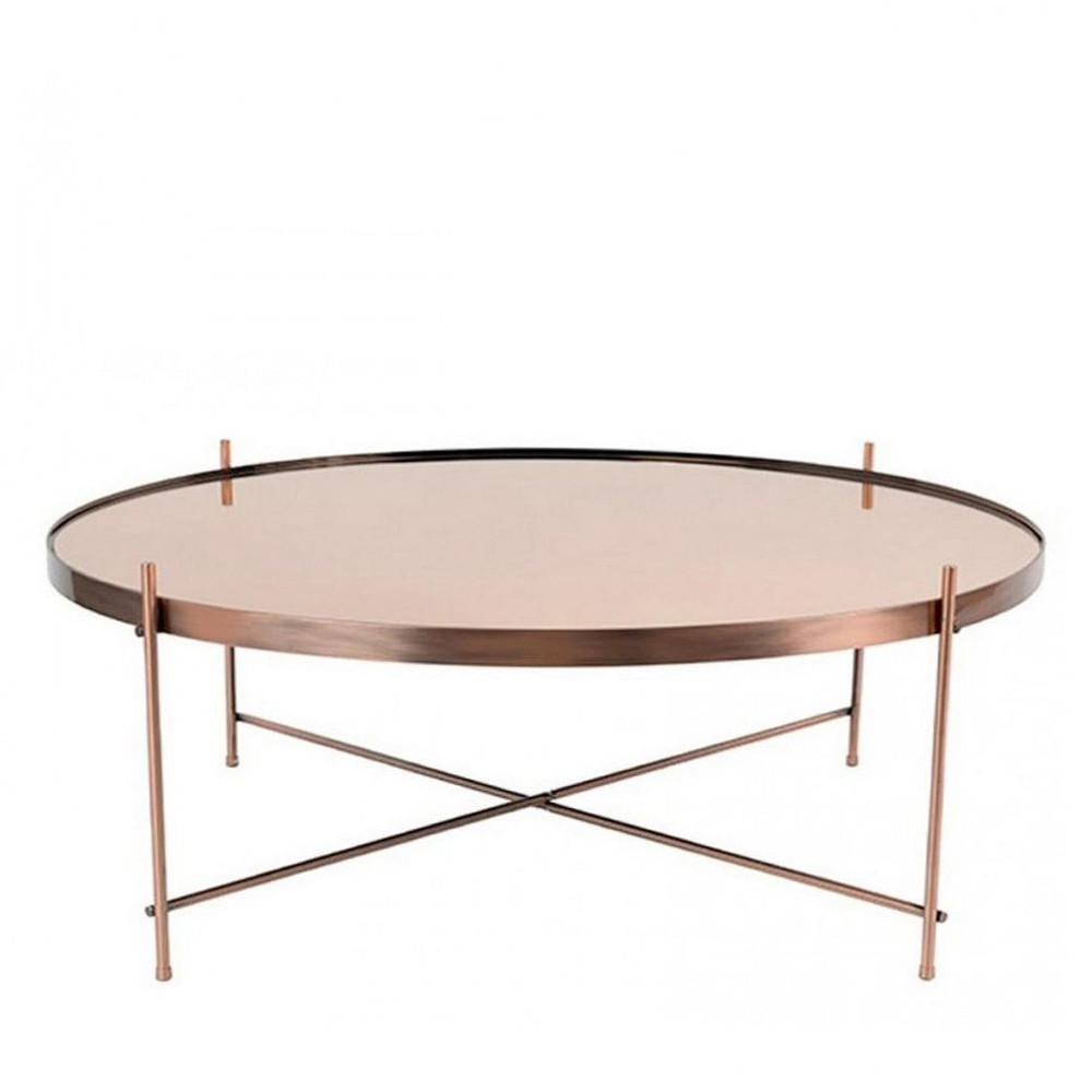 table basse ronde ovale