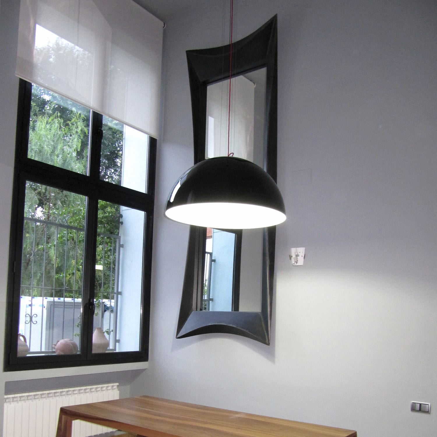 miroir de salon design