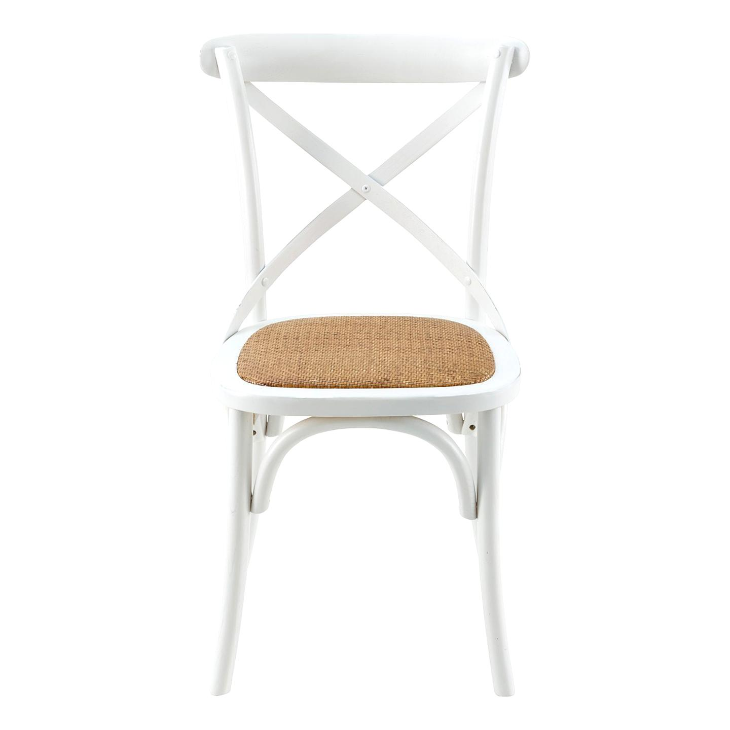 chaise pas cher blanche