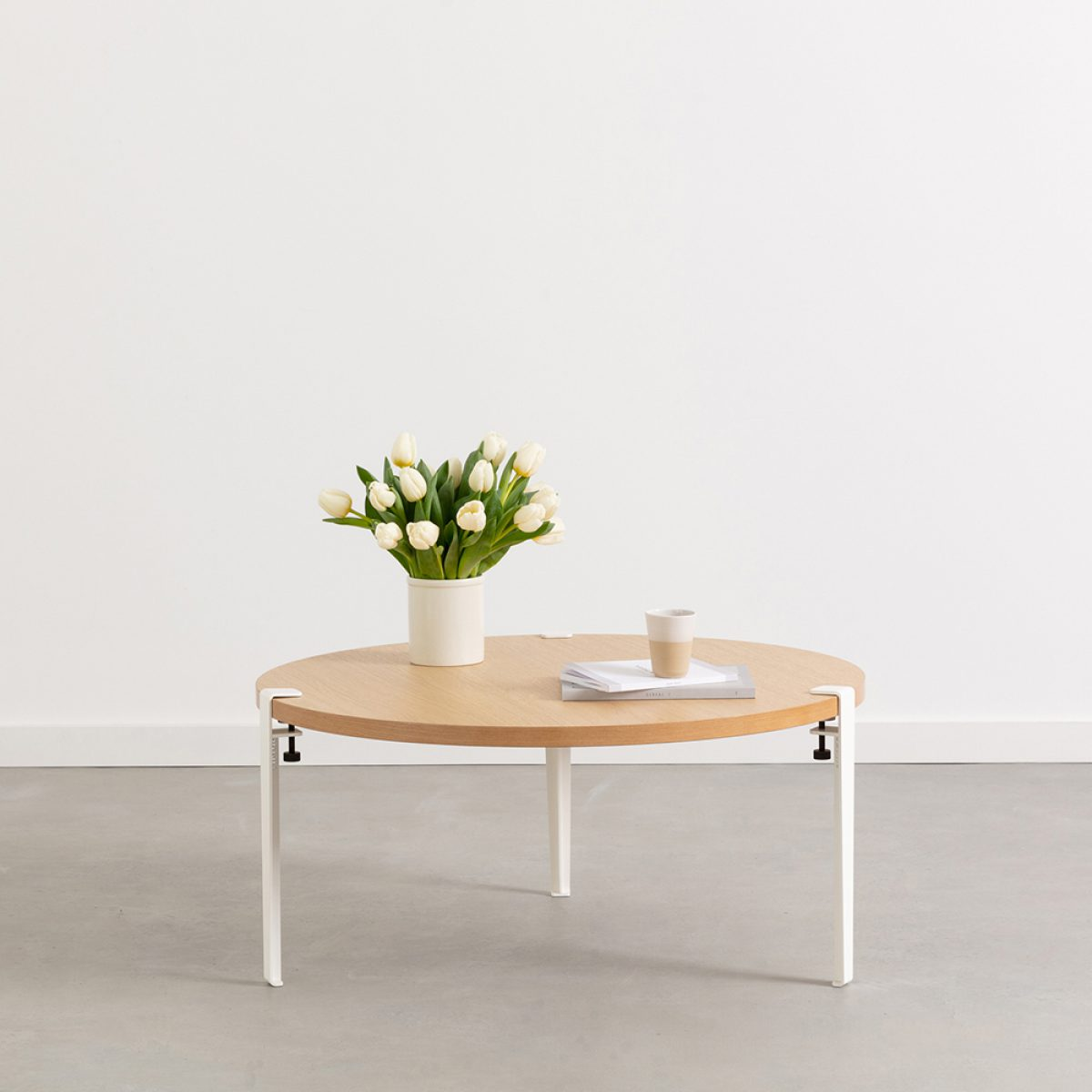 tables basses rondes ou ovales