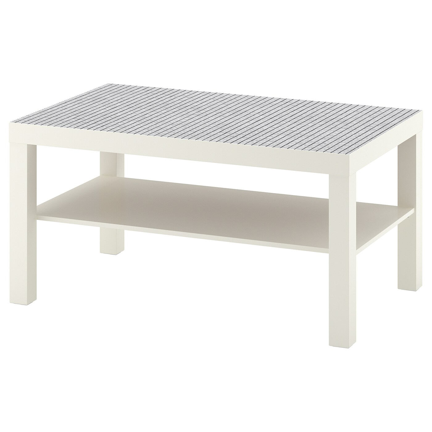 table basse blanche pas cher