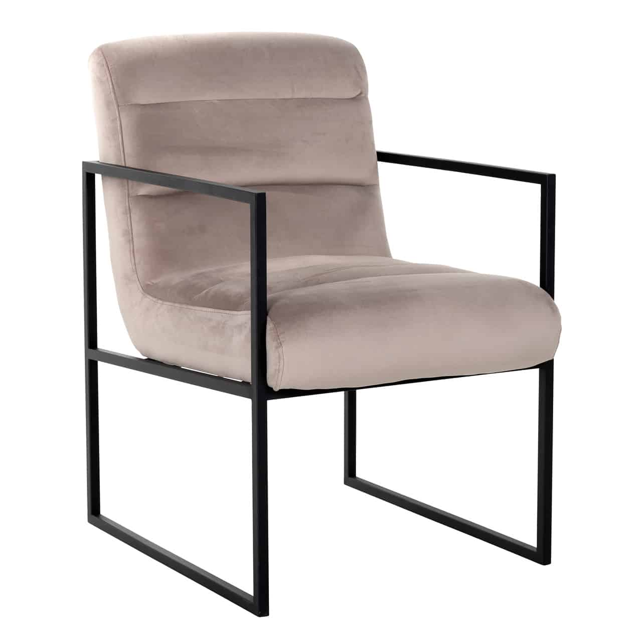 chaise pied metal