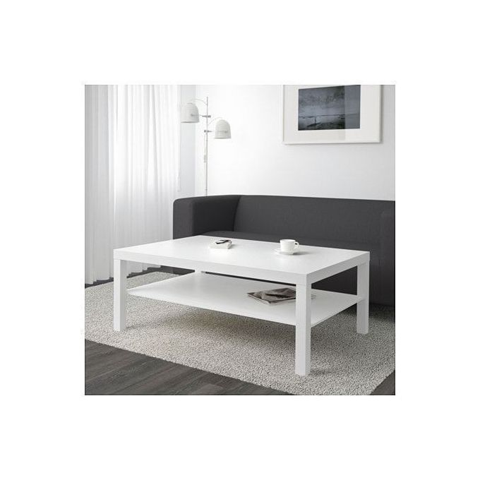 table basse pas cher blanche