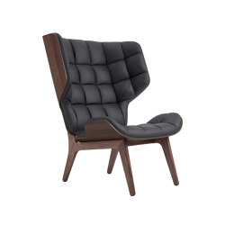 chaise cuir gris anthracite